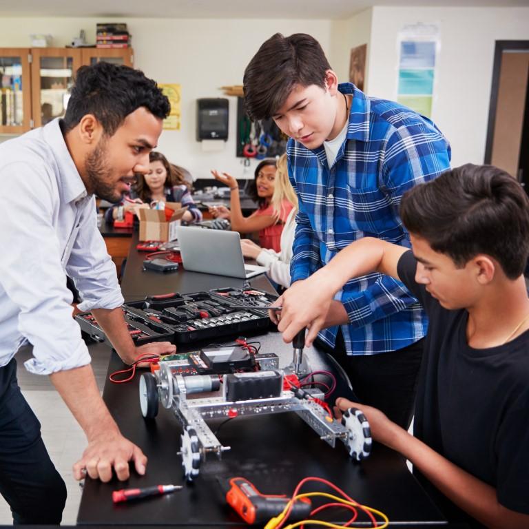 Lees meer over het programma dat CINOP ontwikkelde voor IMC Weekendschool