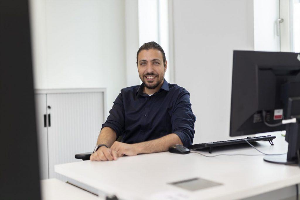 Bassam werken bij cinop